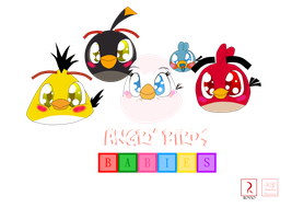 Angry Birds Babies by RussellMimeLover2009