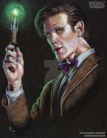 The 11th Doctor - Matt Smith by The-Art-of-Ravenwolf