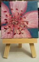 Cherry Blossom mini canvas by strryeyedreamr27