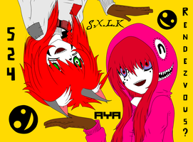 S.X.L.K + Ayala: Hurry and dance, you fools! by Gizmologist