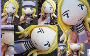 Zoe Orimoto Plush - Digimon Frontier by plooshieS2