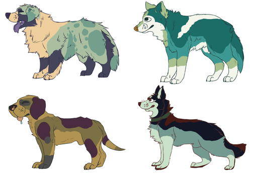 Doges by MikeyOpossum