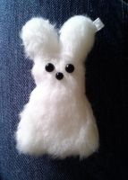Abominable Snowy Bunny by P-isfor-Plushes