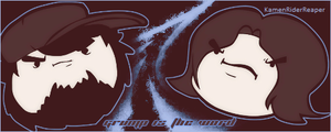 Game Grumps: Grump is the Word by KamenRiderReaper