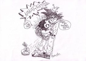 NOOO KAKARROT THERE NOT YOUR by xPixieSoulx