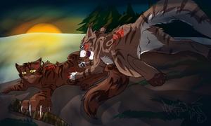 And Blood will spill Blood by Dawnheart101