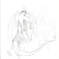 mlp discord and fluttershy by CandiceShadow