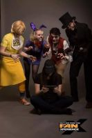 My FNAF Group at FanX 2015~! by NEOmi-triX