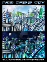 Neo Crisis City by Azurelly