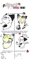 Collab Meme thing with Blackheart by taigress