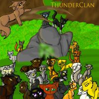 ThunderClan by FieryTiger