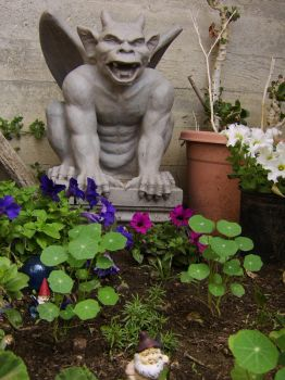 NV-Stock_Garden Gargoyle by NV-Stock
