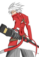 BB: Ragna the Bloodedge Color by UmedaIsao