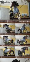 Custom Breyer - Chocolatine by ColdRuru