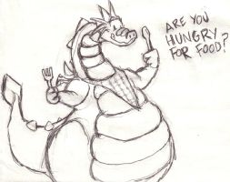 Are You Hungry For Food? by Odendo