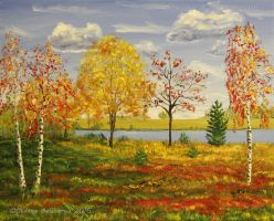 Autumn -  Canadian Landscape by Oksana007