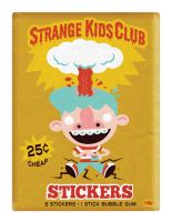 Strange Kids Club by Montygog