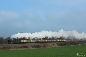 6024 'King Edward I' at Uffington by bigben5051