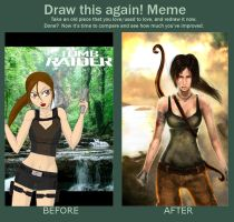 Draw again Lara by Claw333Ayane