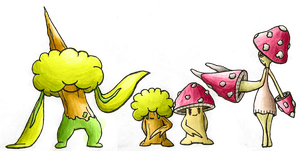Forest Family by Smiley-Fakemon