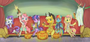 Let's Play in halloween by LUciferAmon