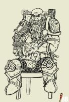 The Wandering Dwarf by bobobiscuits