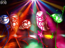 Dance Party! by Ai-Amaterasu