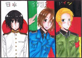 Hetalia Axis Powers by emiriicchan