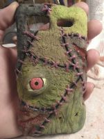 Zombiefied Phone Case by xSynisterx