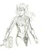Thunder Woman by PunkMetalhead by Red-Rum-18