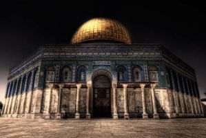 Dome of The Rock Jerusalem Palestine. by ledo4life