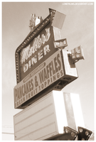 Muller's Diner by lonepalms