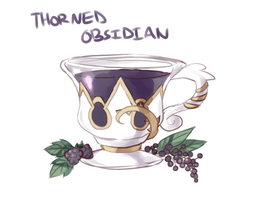 Thorned Obsidian: Remastered by RoyalTeaCat