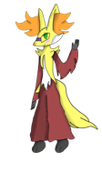 Delphox Sona by ThatHinchtownFan