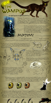 Species Sheet - The Wampus by Kaylink
