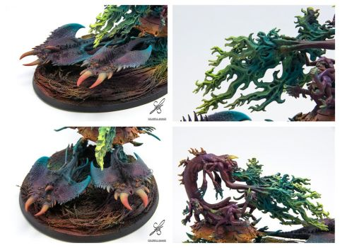 Burning Chariot of Tzeentch - details by Colorfulsavage