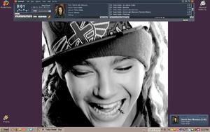 Mai Tom Kaulitz bg .love.love. by woodentoken