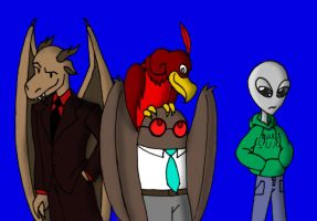 Meet the Cryptids 2 by Dragon-Wing-Z