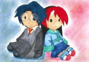 Harry and Alex Plushies by Order-of-the-Phoenix