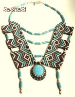 Indian Necklace by gordissima