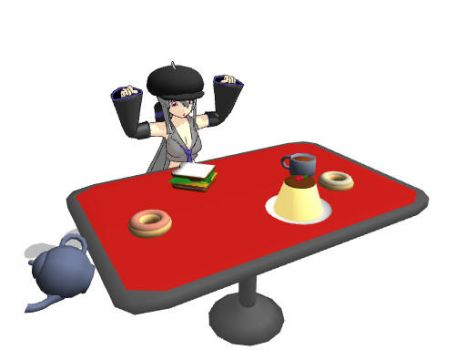 Furniture on mmd mall deviantart for Table th fixed