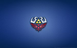 Wallpaper - Hylian Shield (SS) Logo by Kalangozilla