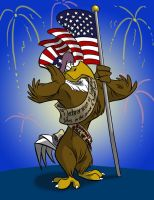 Happy 4th of July by SuperStinkWarrior