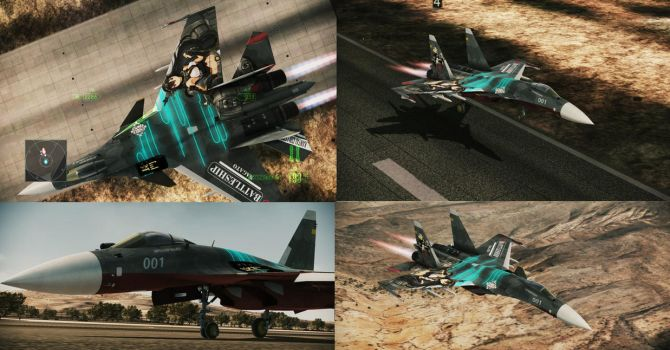 Ace Combat Assault Horizon - Kancolle Edition by 73RO