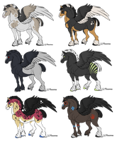 Pegasus Adoptable Auction (OVER) by Daexmos