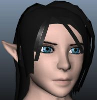Selene3D face update 8-5-2011 by Ryu-Gi