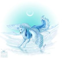 Ice Moon by joanniegoulet