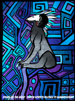 Stained Glass-Denton by KyuubiNight
