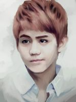 Yoseob Speedpaint by mackbutler3