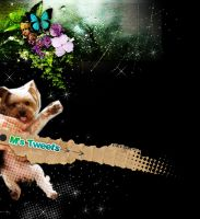 my work _06 twittr background by mafully